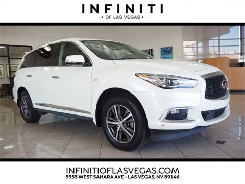 Pre-Owned 2017 INFINITI QX60 Drivers Assist