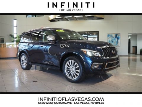 2016 INFINITI QX80 AWD , Tech & 22